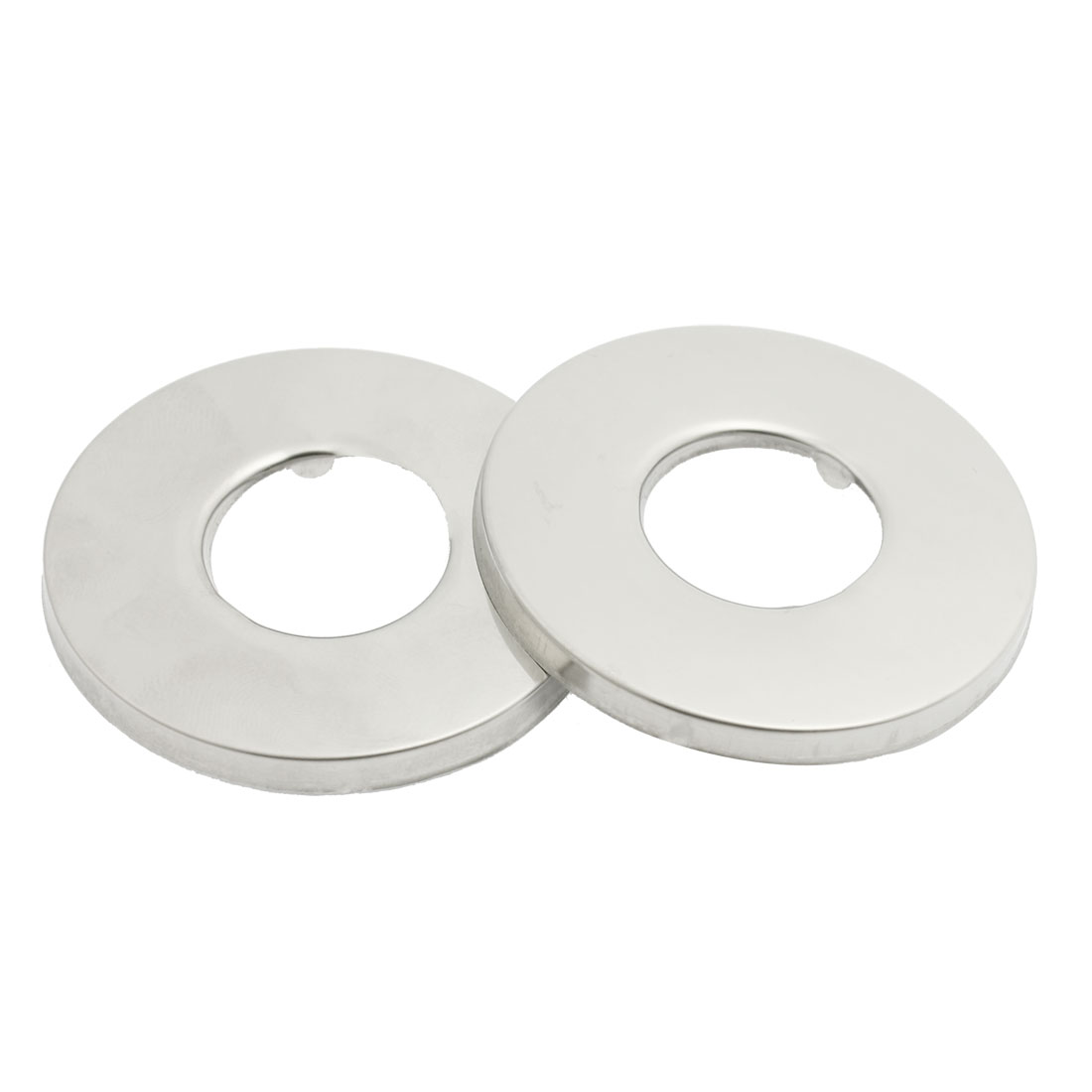 2 Pieces Stainless Steel Decorative Round Cover Cap for Angle Valve