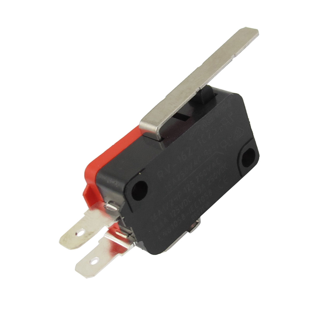 SPDT Long Straight Hinge Lever 3 Pin Momentary Basic Limited Micro Switch