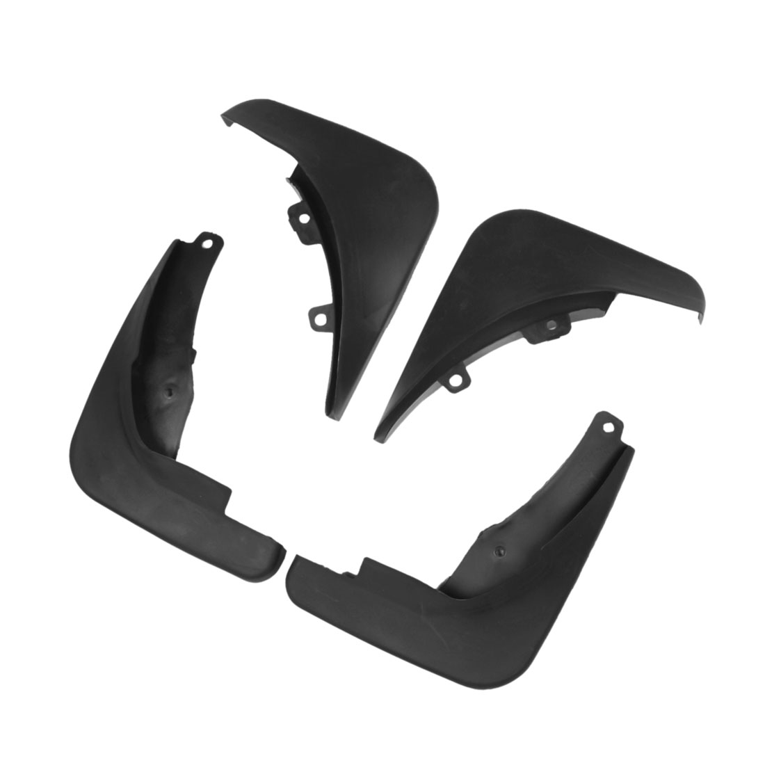 Front Rear Full Pairs Plastic Splash Guards Mud Flaps for Buick Excelle XT