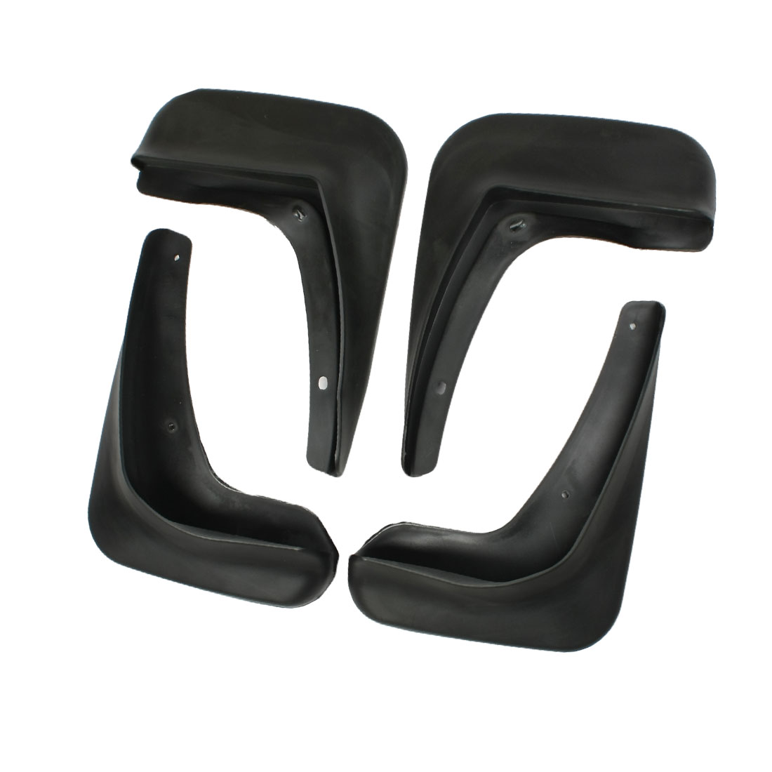 Front Rear Full Pairs Plastic Splash Guards Mud Flaps for Buick LaCrosse 2009