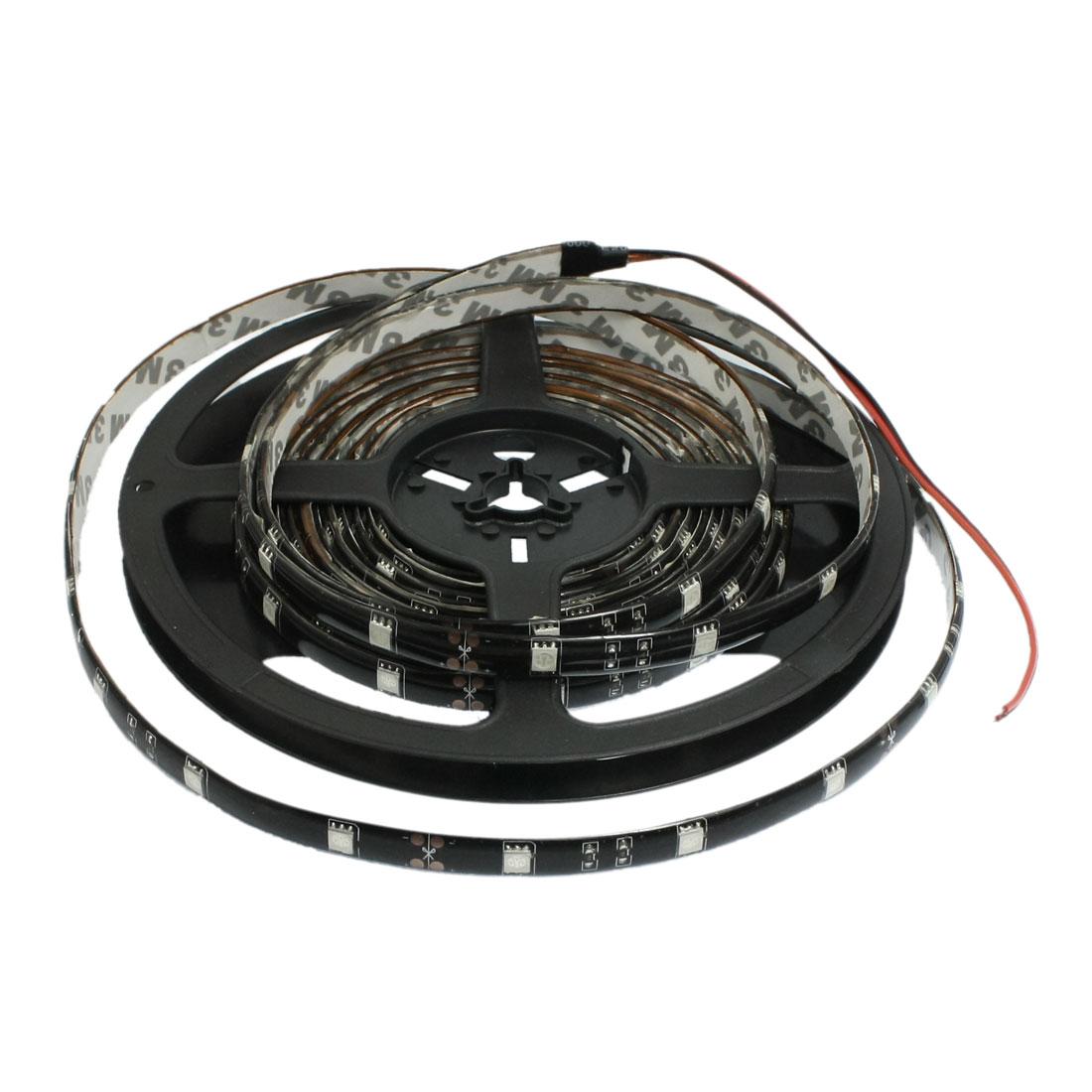 5M 5050 SMD 150 LEDs Flexible Strip Lights Blue Car DIY Christmas Decor