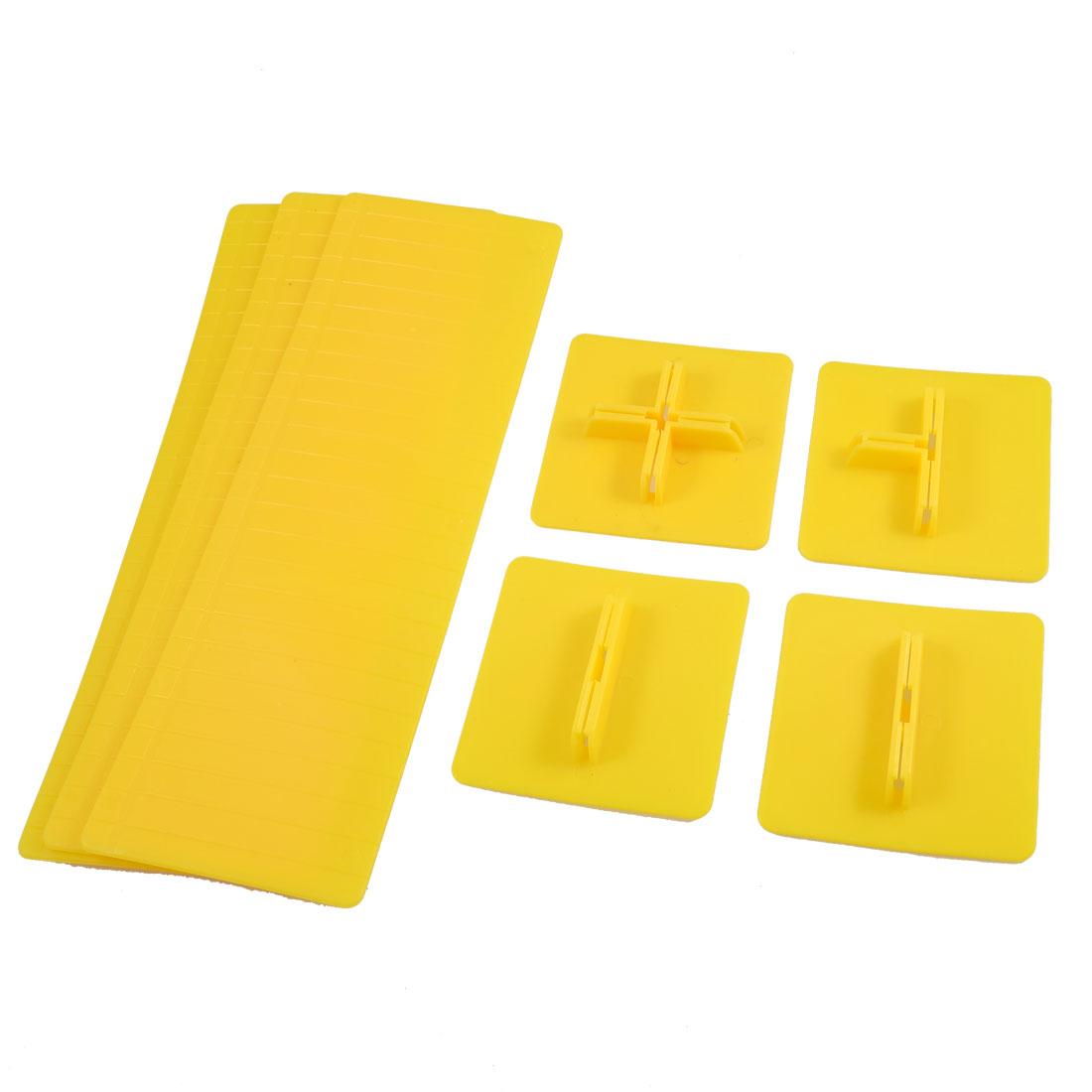 7 Pcs Plastic Grid Tidy Drawer Divider Storage Organizer Set