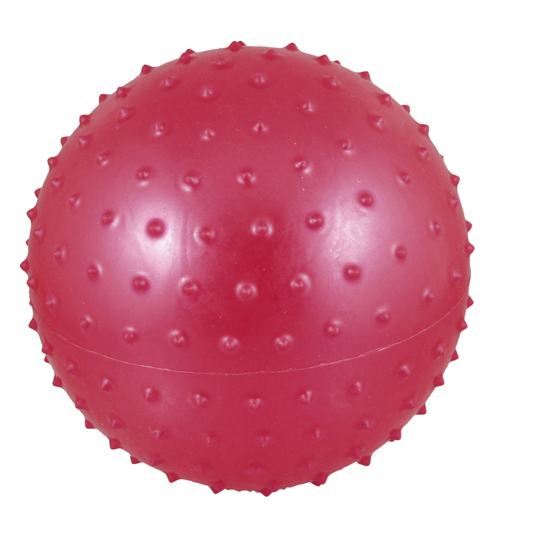 "6.3"" Inflated Dia PVC Spiky Relaxing Massage Ball Toy Red for Kids"