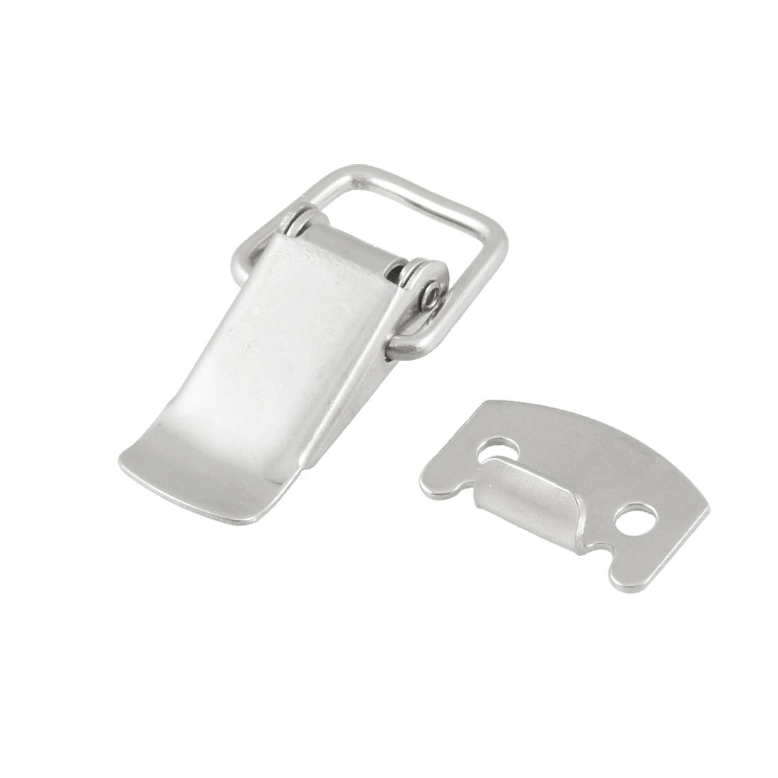 Hardware Stainless Steel Spring Loaded Toggle Latch Catch Hasp for Chests Cases