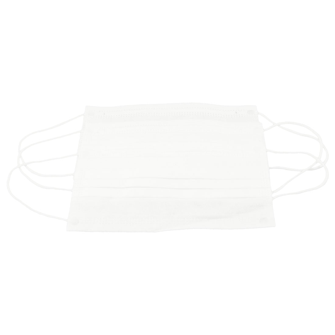Non-woven Fabric Mouth Anti Dust Disposable Face Mask White 3pcs