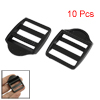 """10 Pcs Plastic Replaceable Luggage Bag Side Buckles for 1"""" Width"""