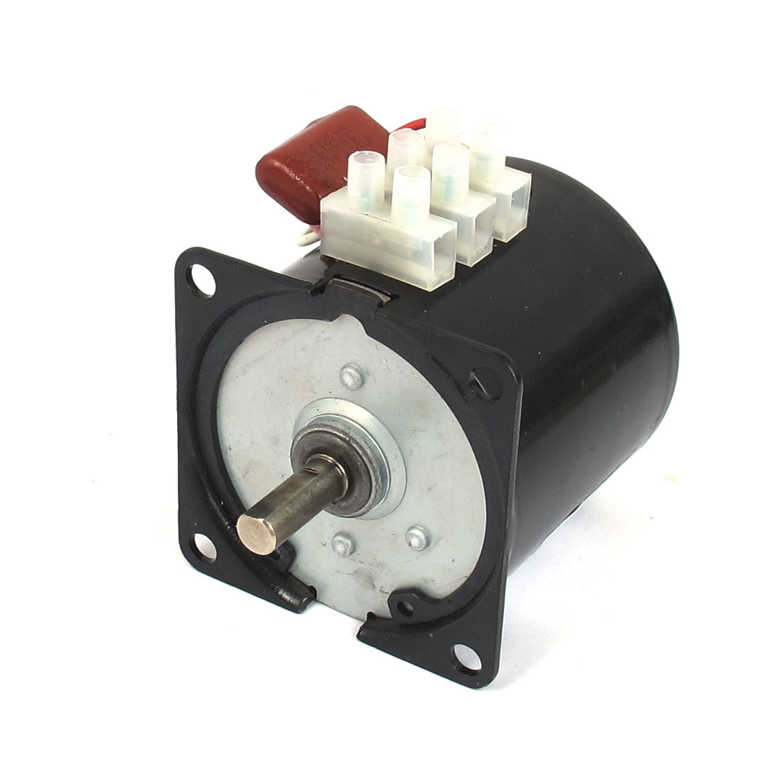AC 220V 10RPM 50Hz Electric Machine Gear Motor 60KTYZ w Capacitor