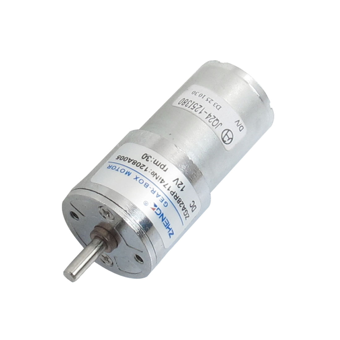 28mm Body Diameter Two Terminals Power Oven Geared Motor 12VDC 30RPM