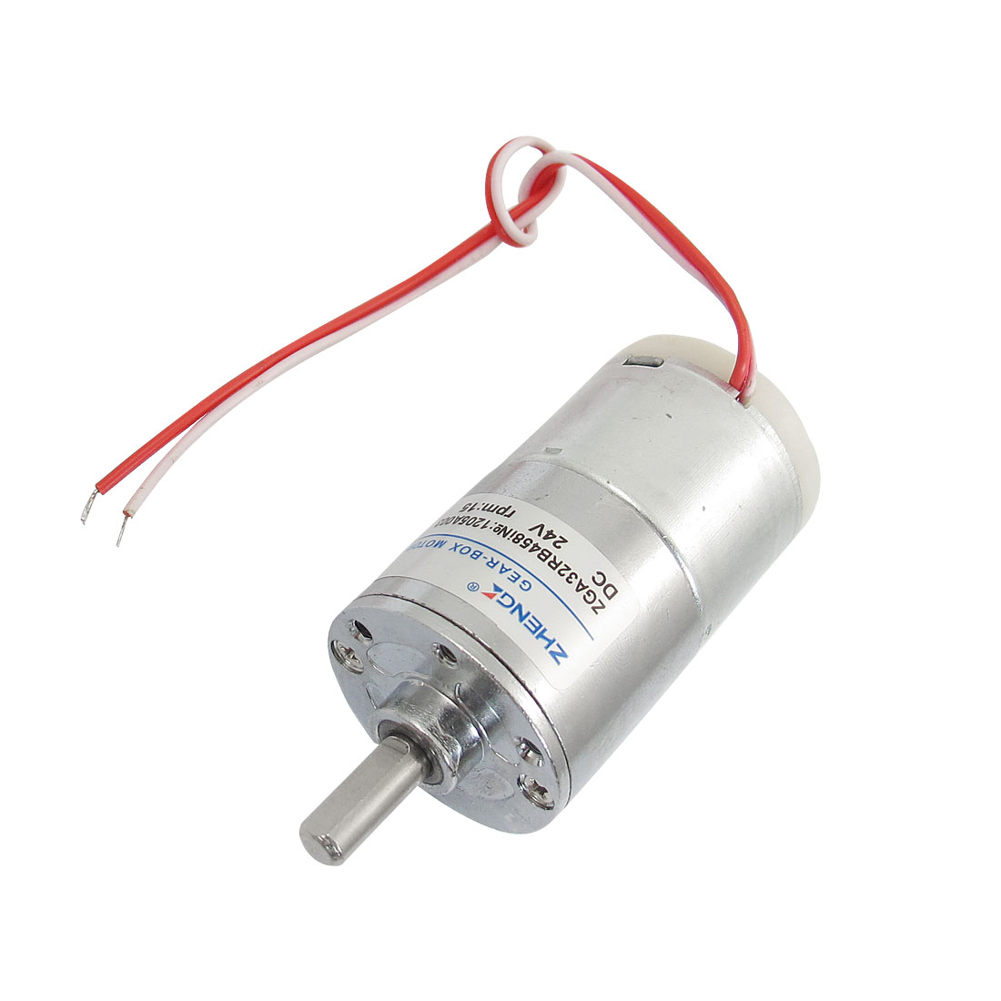 Wired 6mm Shaft Diameter Electric Oven Geared Motor 24VDC 15RPM