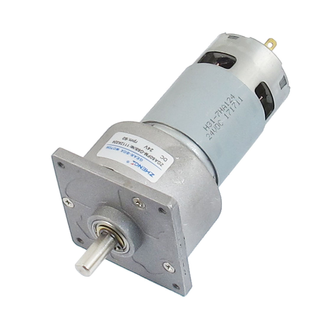 24VDC 60RPM Output Speed Two Pins Magnetic Geared Motor