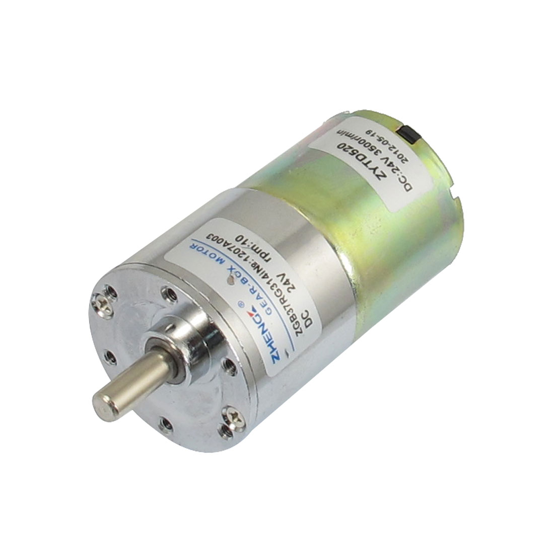 DC 24V 10RPM Output Speed Cylinder Shaped Oven Geared Motor
