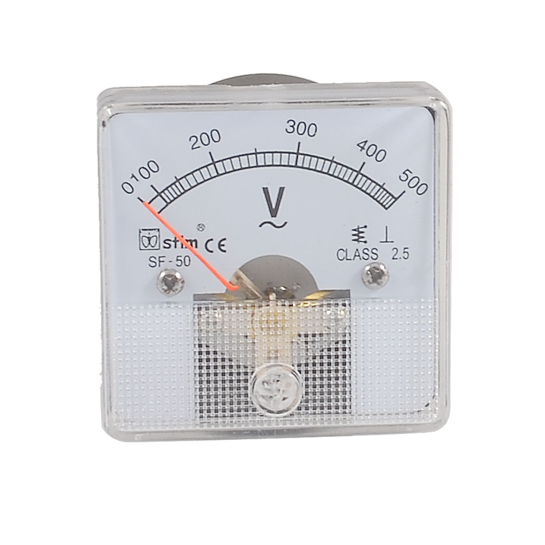 AC 0-500V Square Panel Analog Voltmeter Voltage Meter SF-50