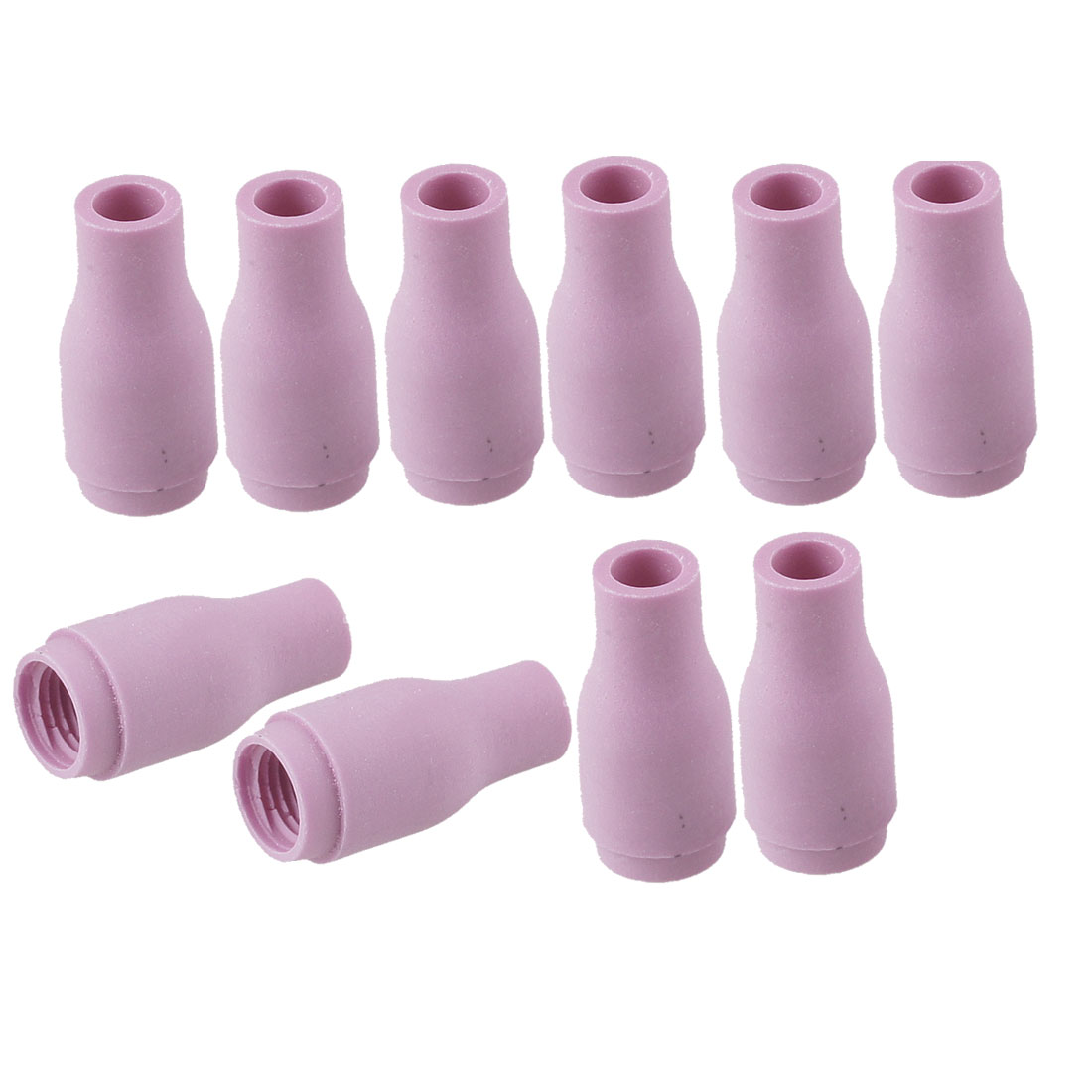 10 Pcs Welding Torch Alumina Ceramic Cup Nozzles 13N08 #4 for Torch 9 20