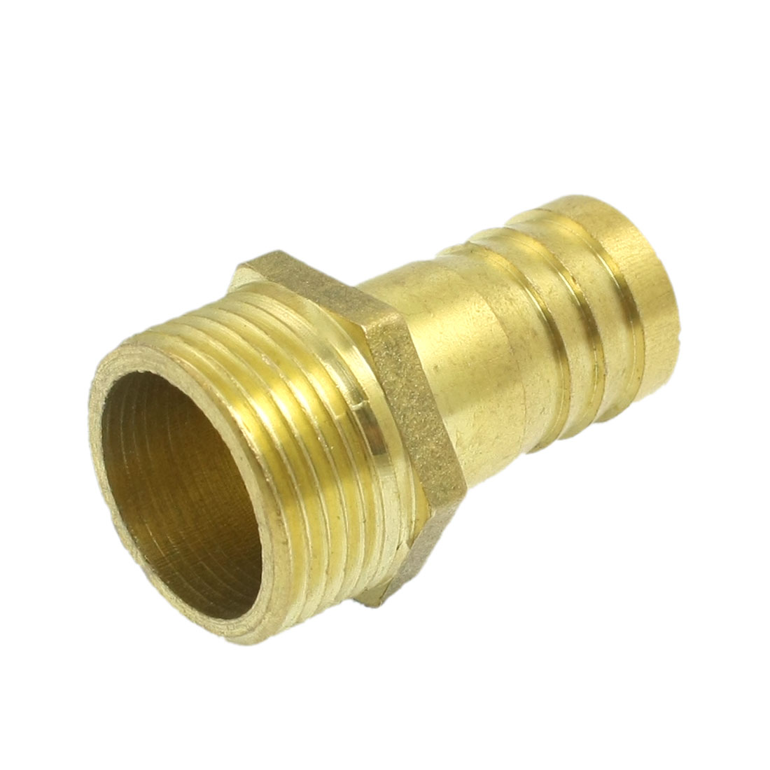 "Brass 3/4"" Male Thread Straight Connector Coupler for Water Air Hose"