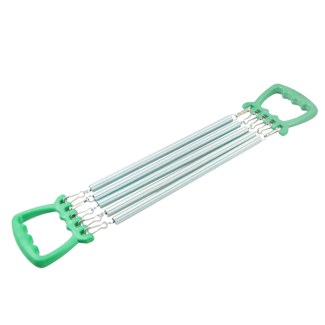 Green Plastic Handle Five Springs Chest Pull Expander for Children