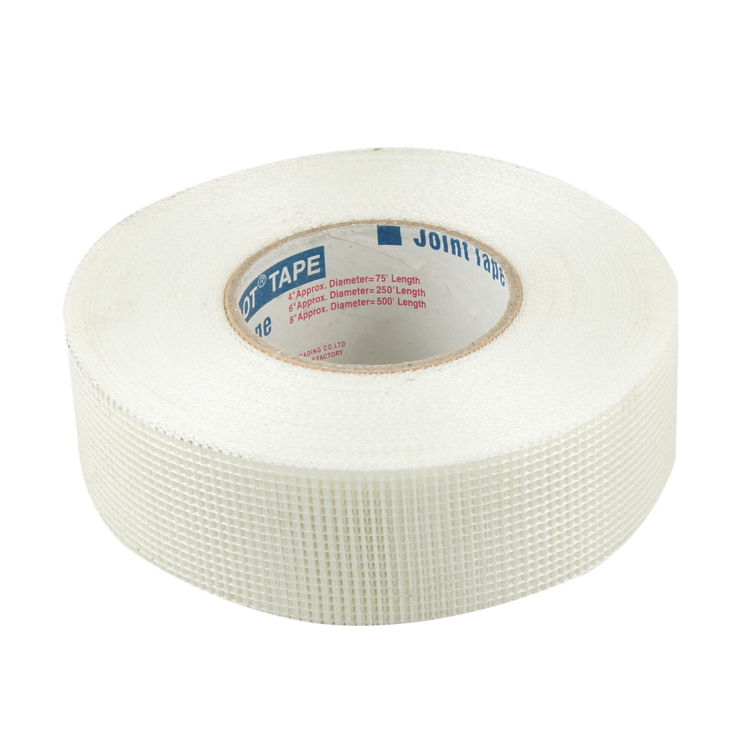 "Adhesive 2"" Width White Fiberglass Mesh Joint Tape Roller"