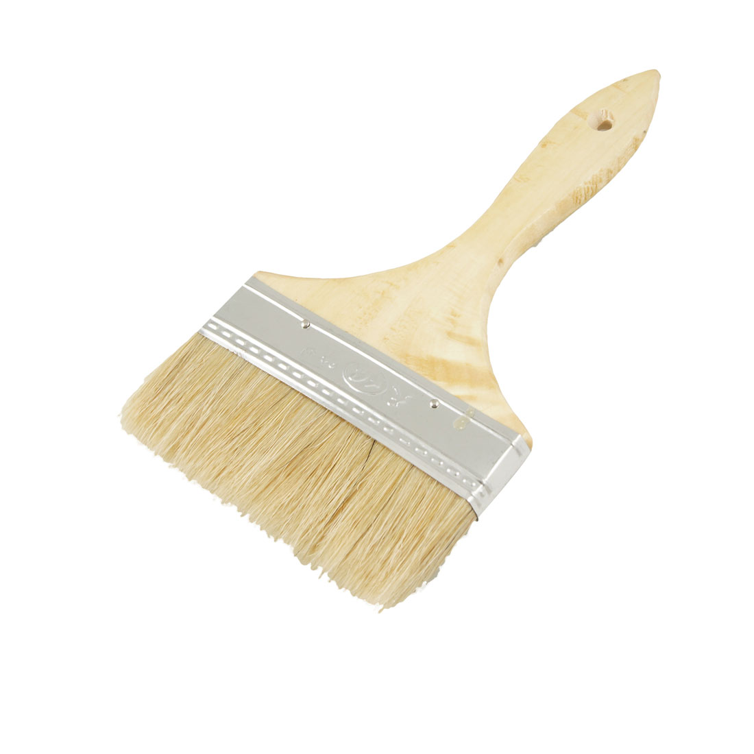 "5"" Width Bristle Hair Wooden Handle Painting Paint Brush for Furniture"