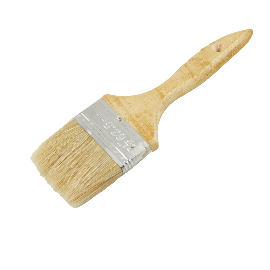 "2.5"" Bristle Hair Wooden Handle Painting Paint Brush for Furniture"