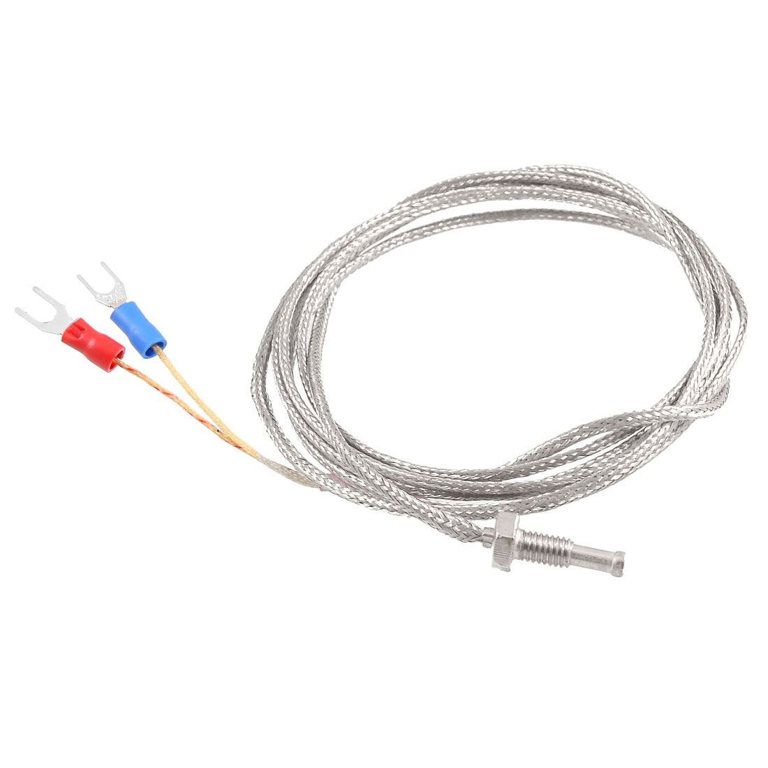 K Type Thermocouple Temperature Controller Sensor 0-400C 2M 6.6Ft Long