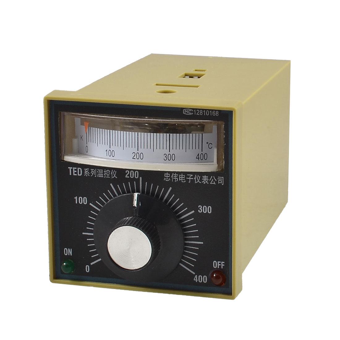 TED-2001 0-400 Celsius Deviation Indication Temperature Controller AC 220V