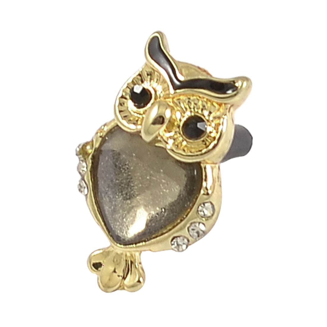 Owl Shaped 3.5mm Anti Dust Ear Cap Plug Cover for Cell Phone