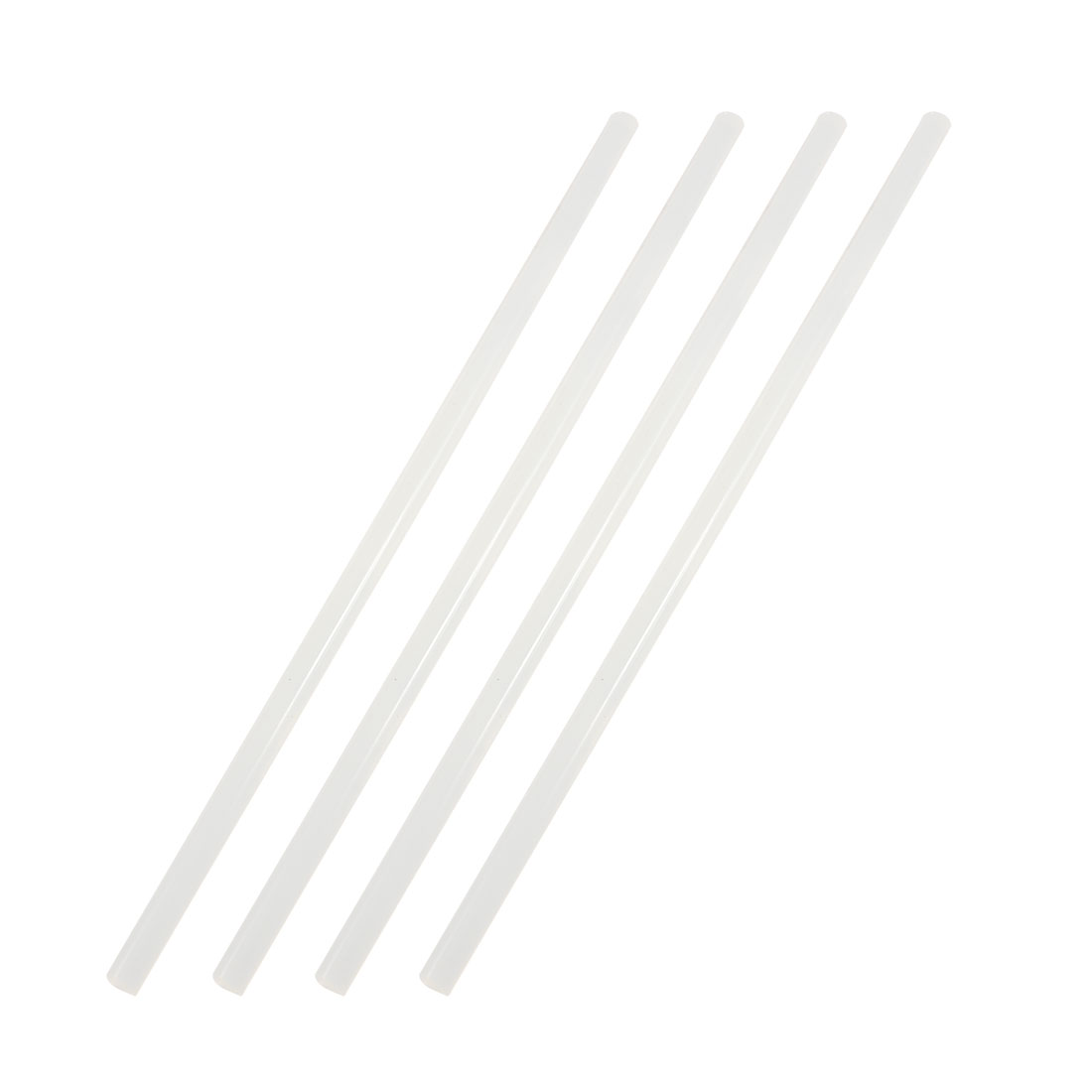 4 Pcs Translucence Hot Melt Glue Adhesive Stick 26cm x 0.7cm