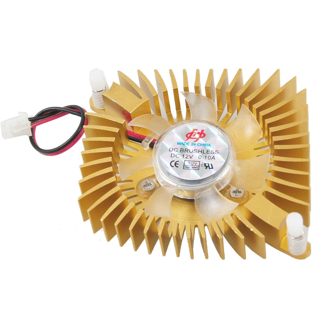 DC 12V 80mm VGA Video Card Cooler Cooling Fan for Computer