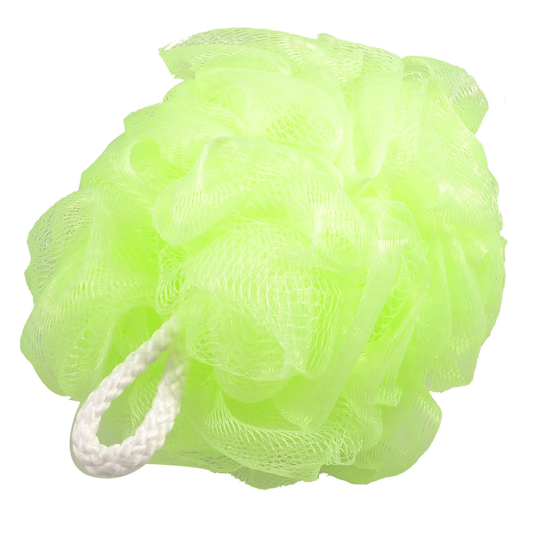 Green Bathing Bath Shower Pouf Body Cleaner Scrubber Scrubbing Tool