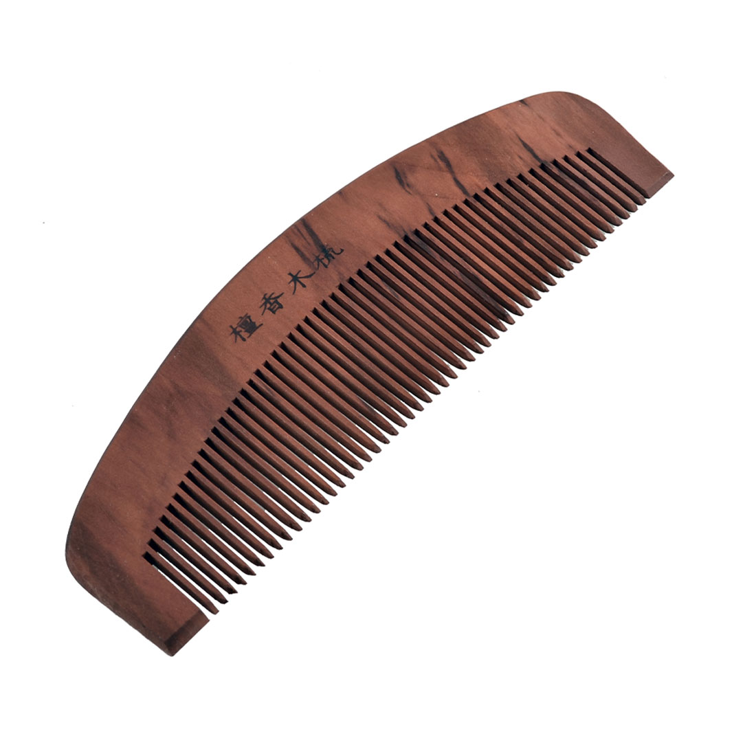 "Portable Rosewood Hair Care Sandal Wood Fine Teeth Comb 6"" Long"