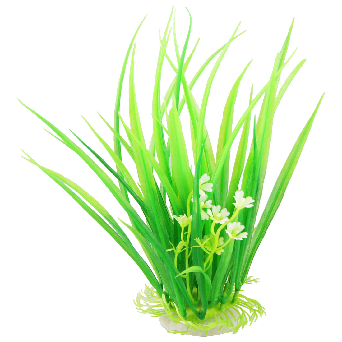 "8.3"" Tall Green Simulated Plastic Tree Water Grasses Ornament for Fish Tank"