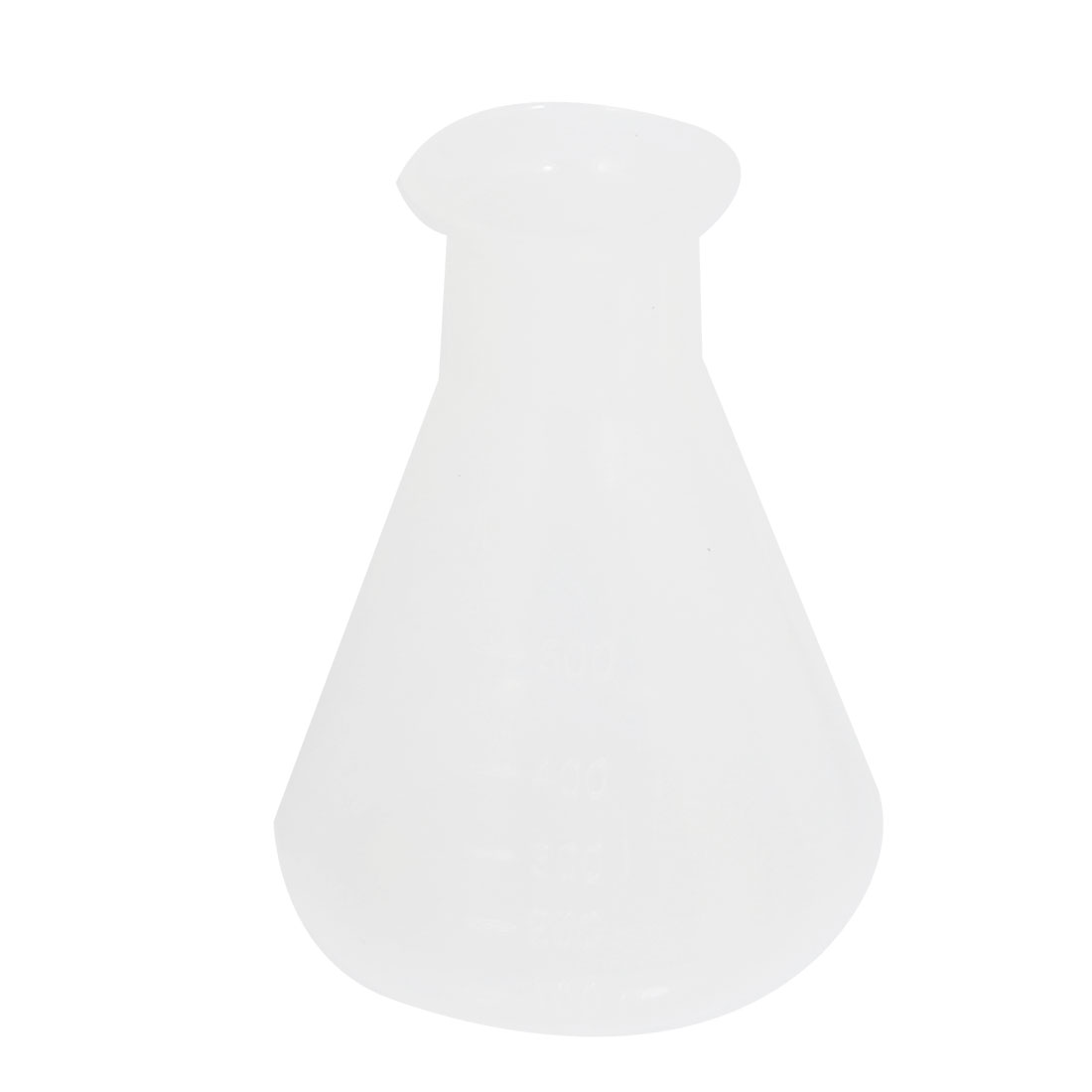 500ml Clear Plastic Laboratory Chemical Conical Flask Storage Bottle
