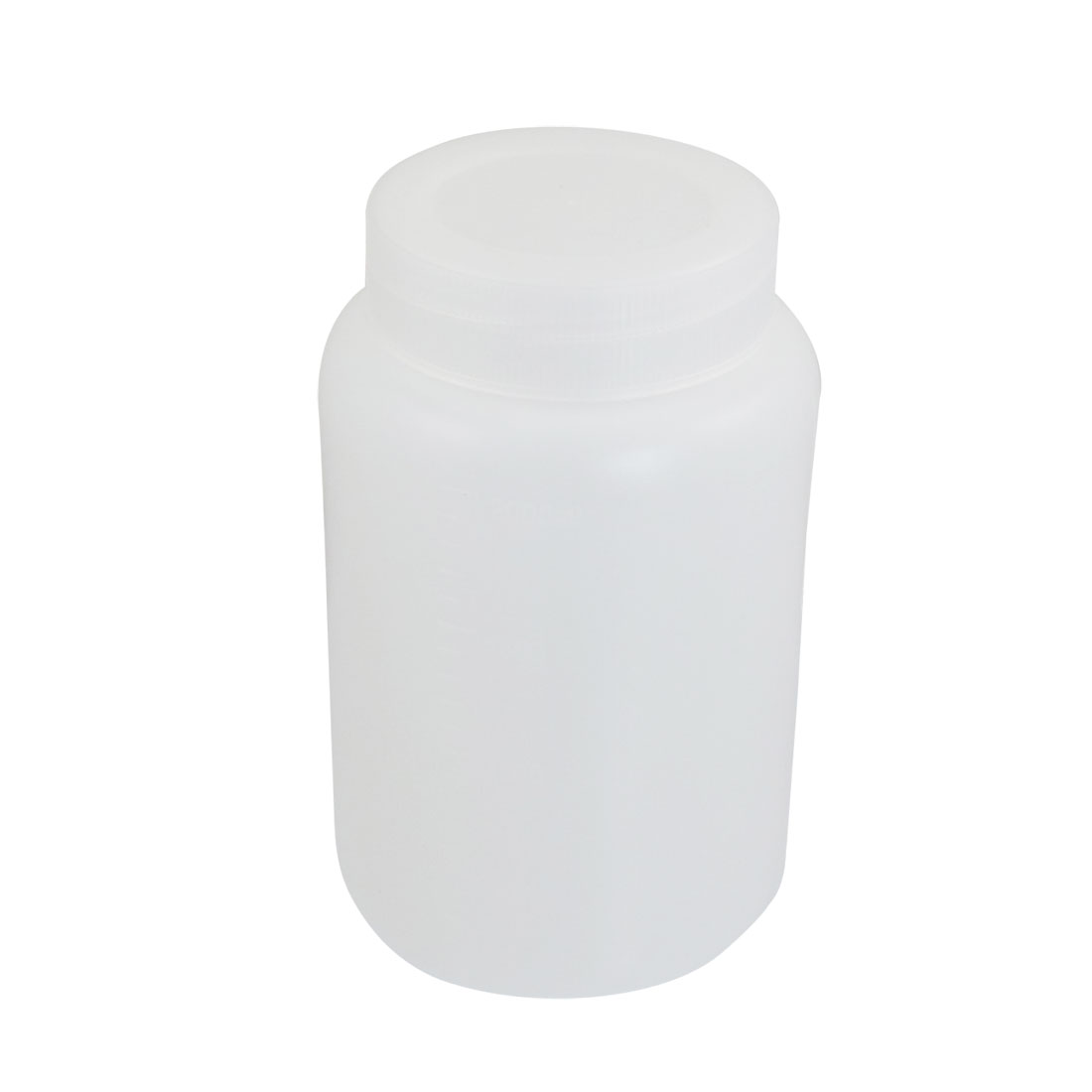 2000ml White Plastic Graduated Laboratory Chemical Capacity Storage Bottle