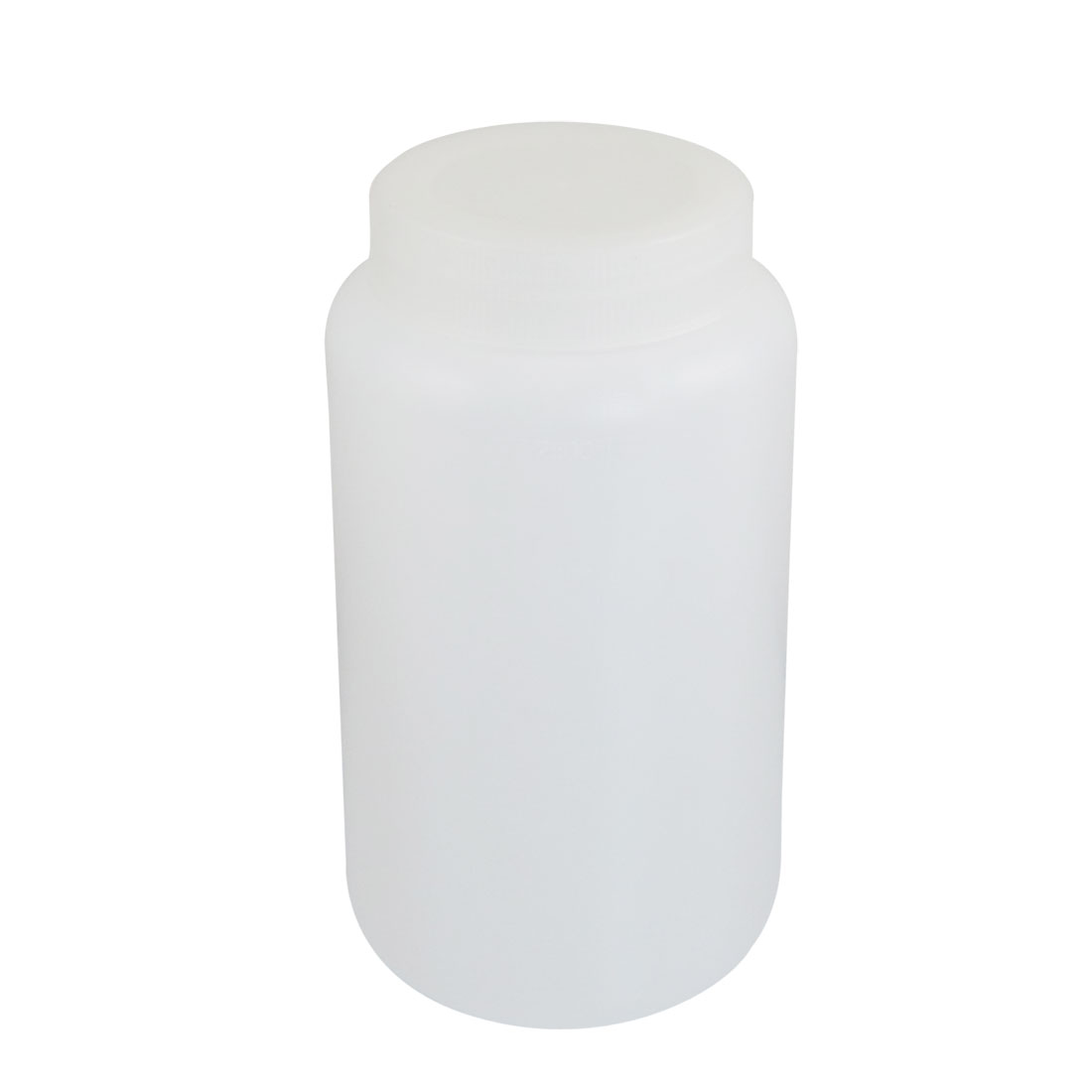 2500ml White Plastic Graduated Lab Chemical Capacity Storage Bottle