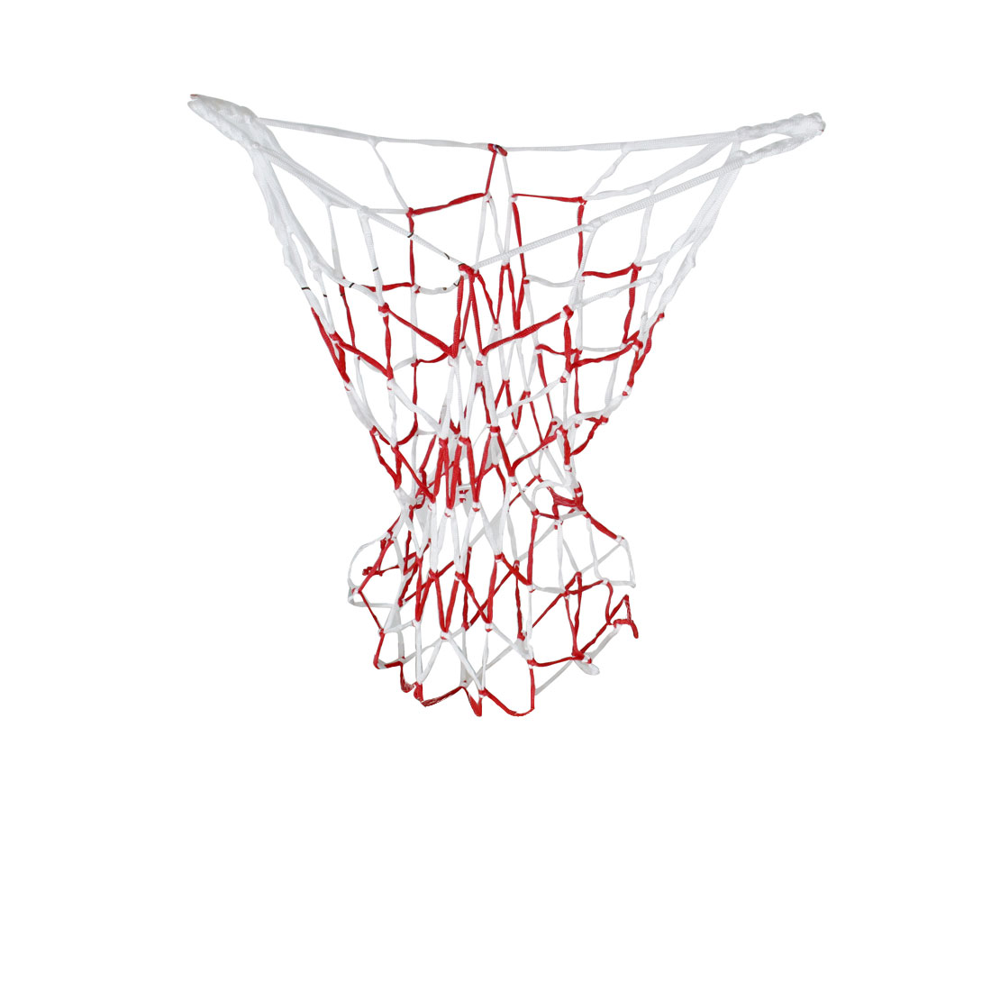 Volleyball Basketball Carry Braided Net Bag Red White