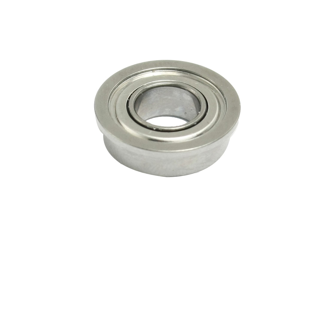 Radial Shielded 13mm x 6mm x 6mm Deep Groove Flanged Ball Bearing