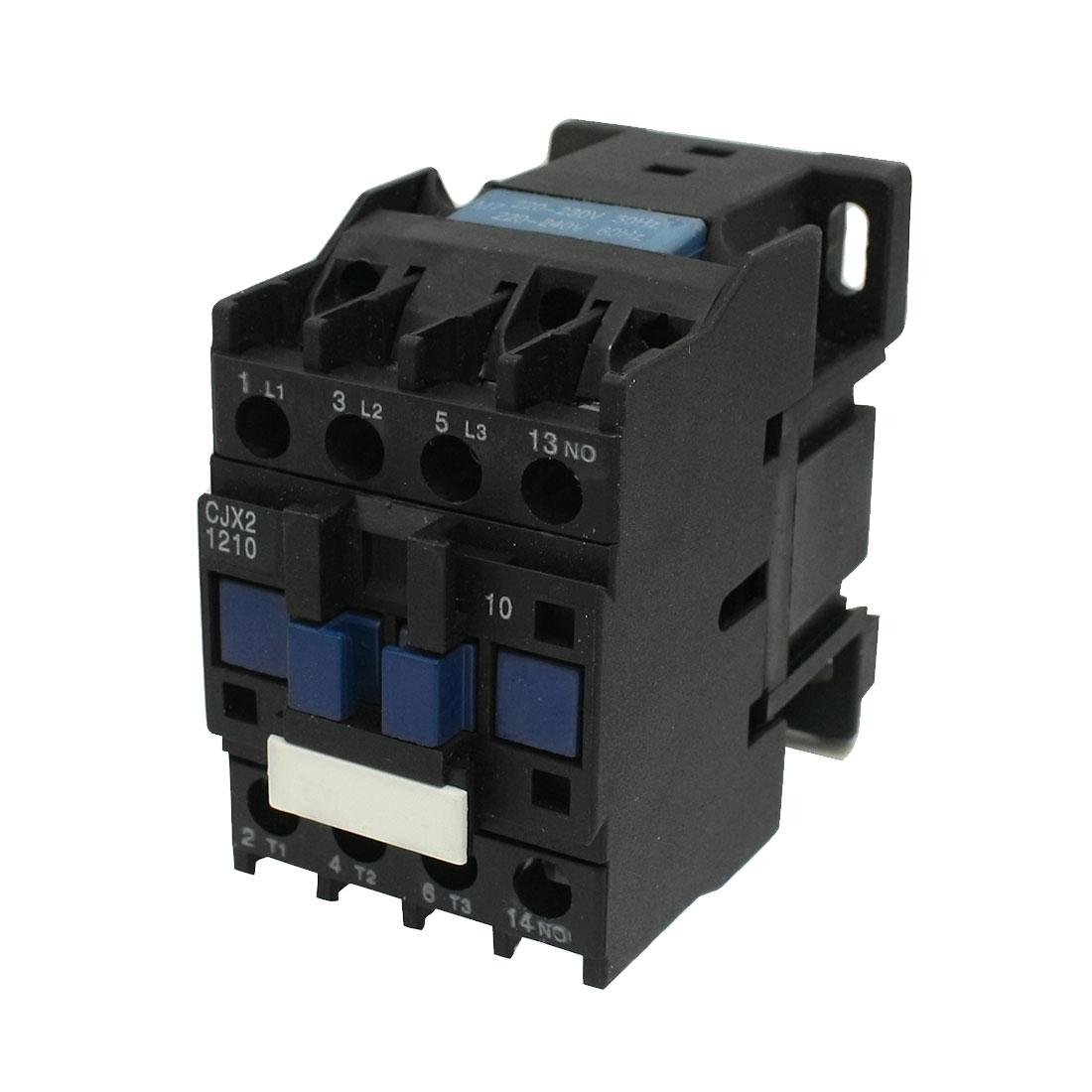 CJX2-1210 3 Poles One NO AC Contactor Coil 5.5KW AC-3 Ui660V