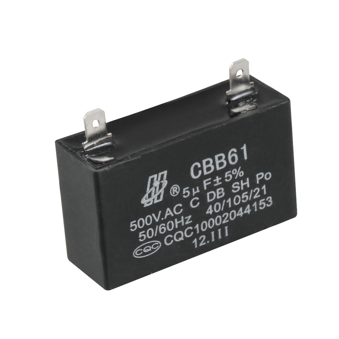 5uF AC 500V Metalized Polypropylene Film Motor Capacitor