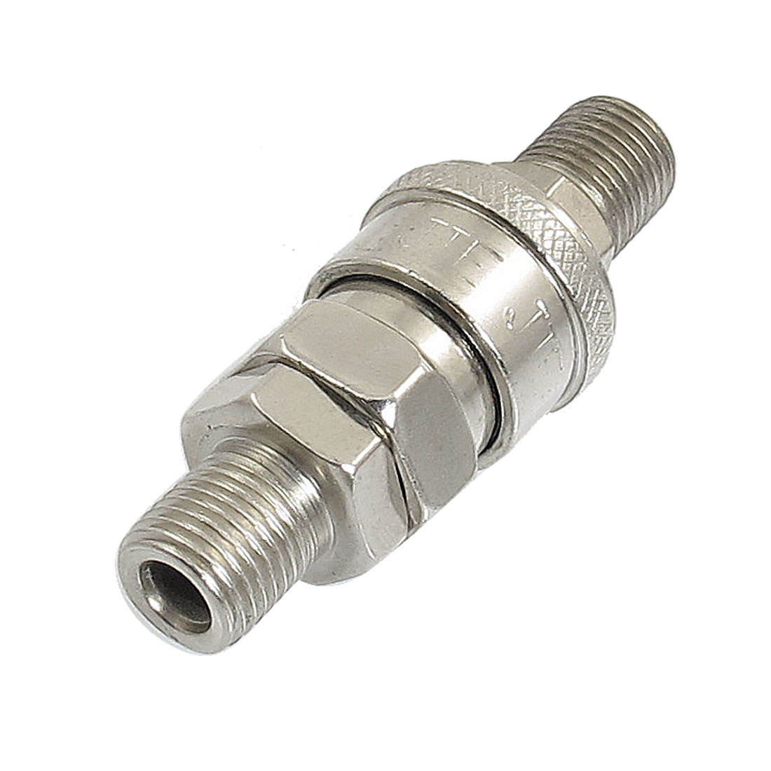 "1/4"" PT Pnemuatic Air Compressor Hose Male Quick Fitting Connector Plug"
