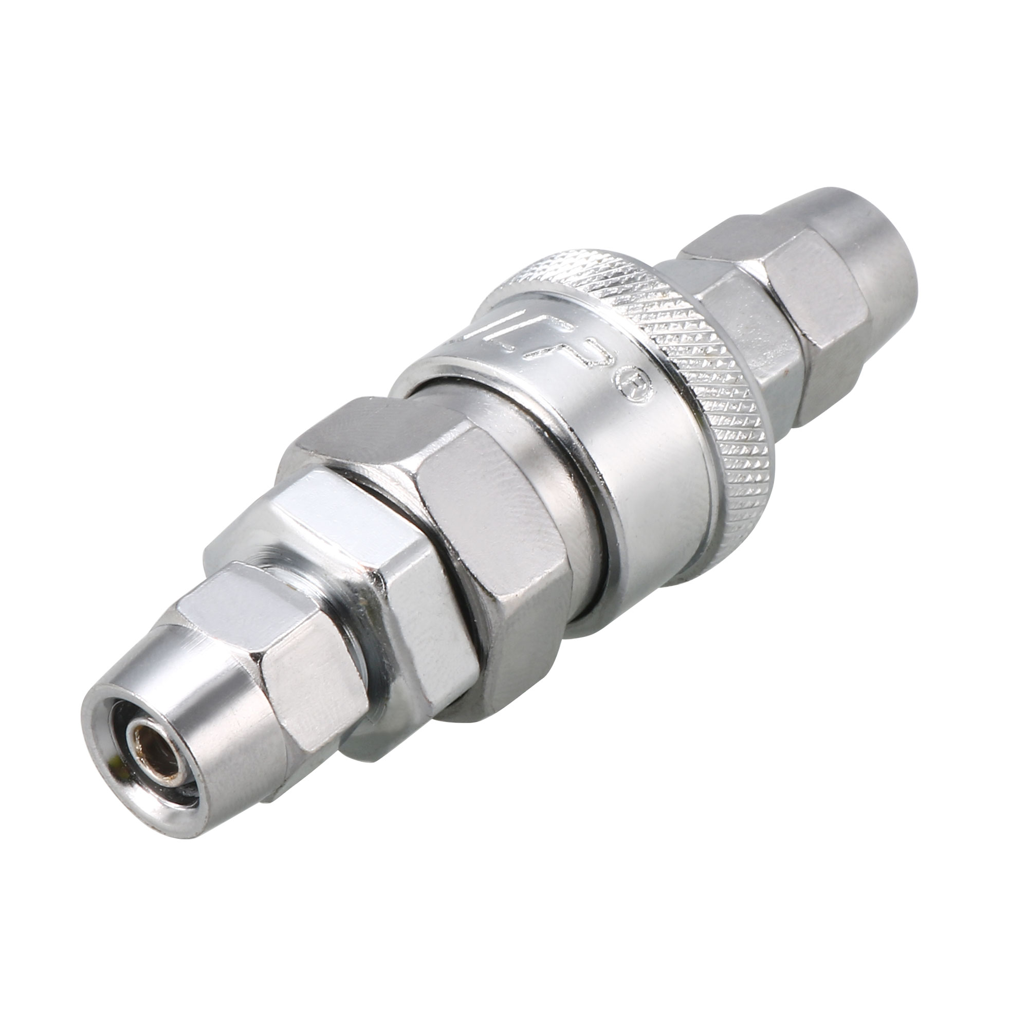 5mm x 8mm Pneumatic Air Hose Quick Fitting Connector Coupler Connector Adapter