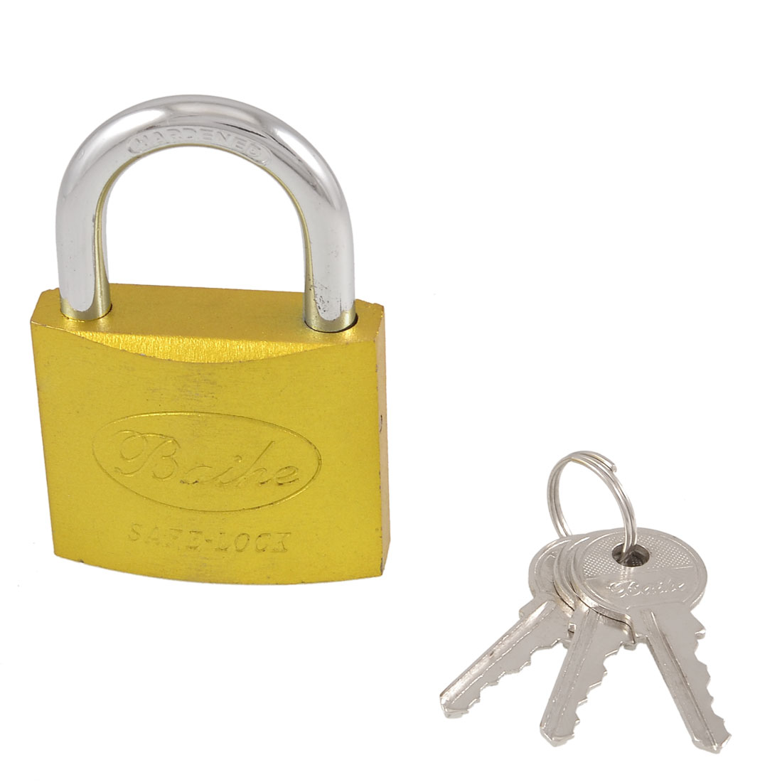 PADLOCK 50MM WITH 3 KEYS SAFETY AND SECURITY FOR OUTDOOR