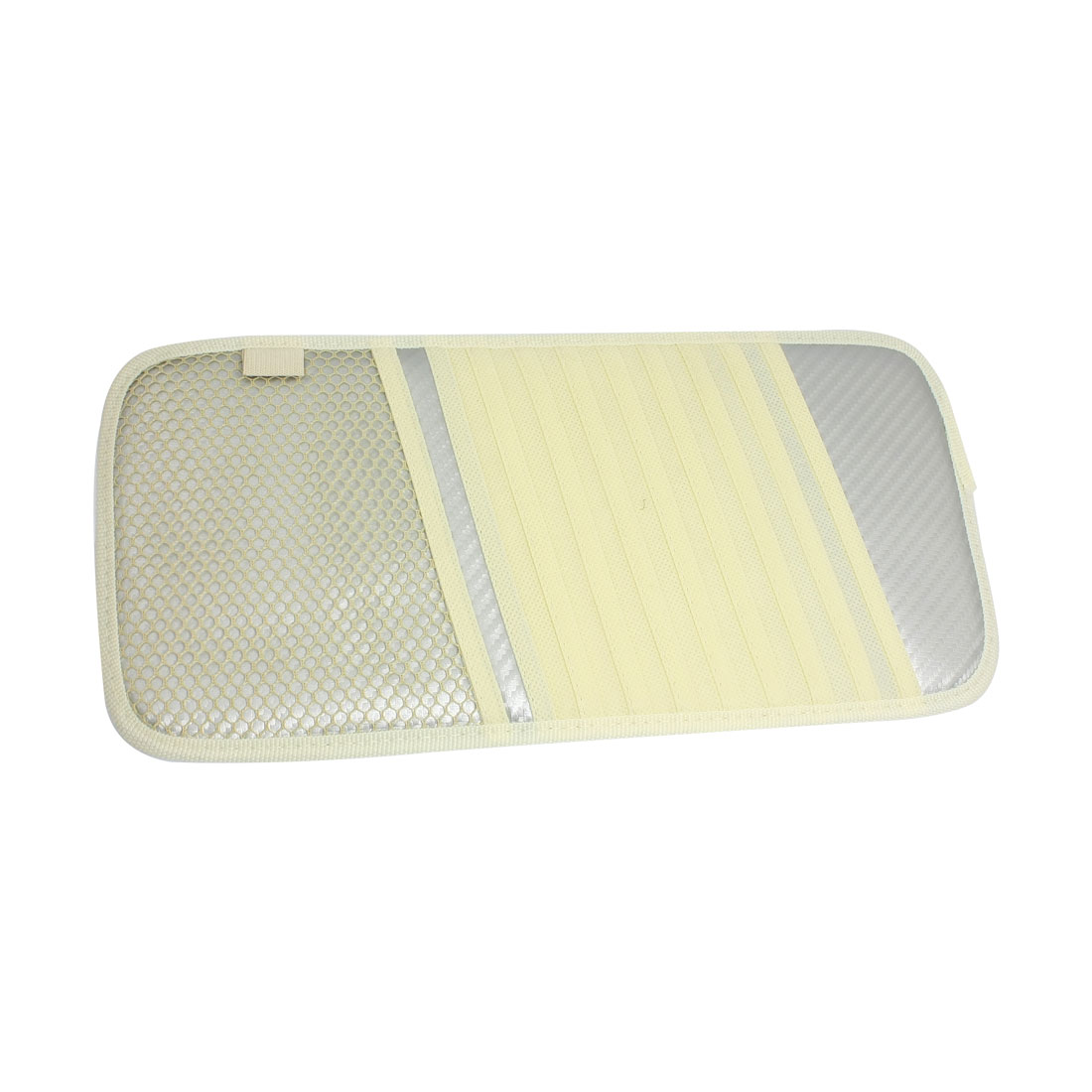 Car Interior Sun Visor 10 Pieces DVD CD Holder Pocket Case Beige