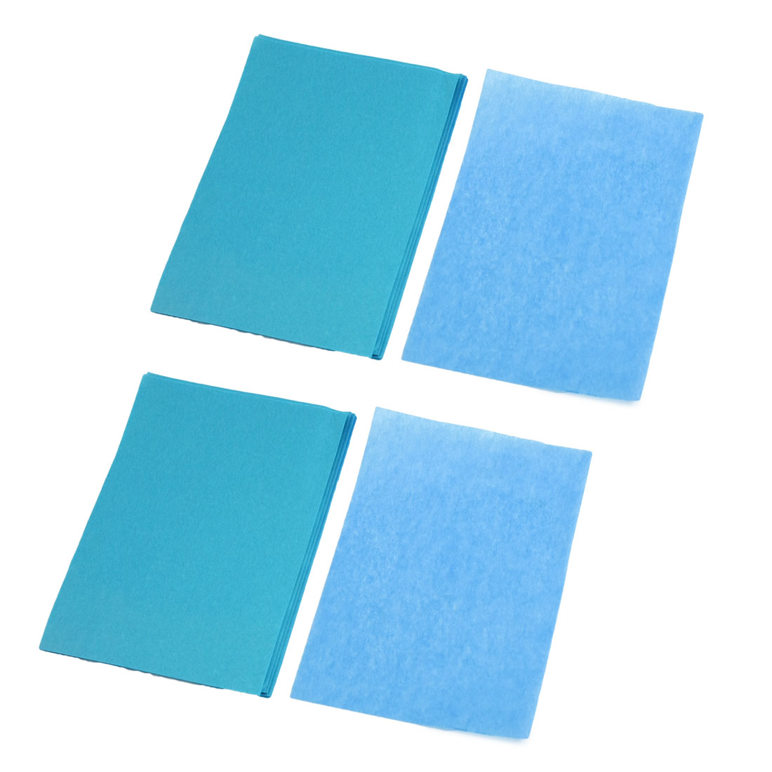 80 Sheets Facial Oil Blotting Film Paper Beauty Tool Blue