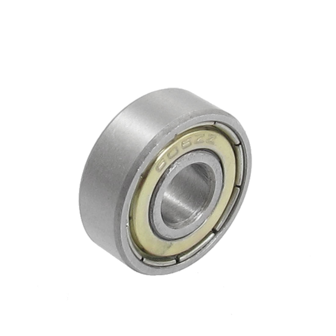 6mm x 17mm x 6mm 606 Shielded Miniature Deep Groove Radial Ball Bearing