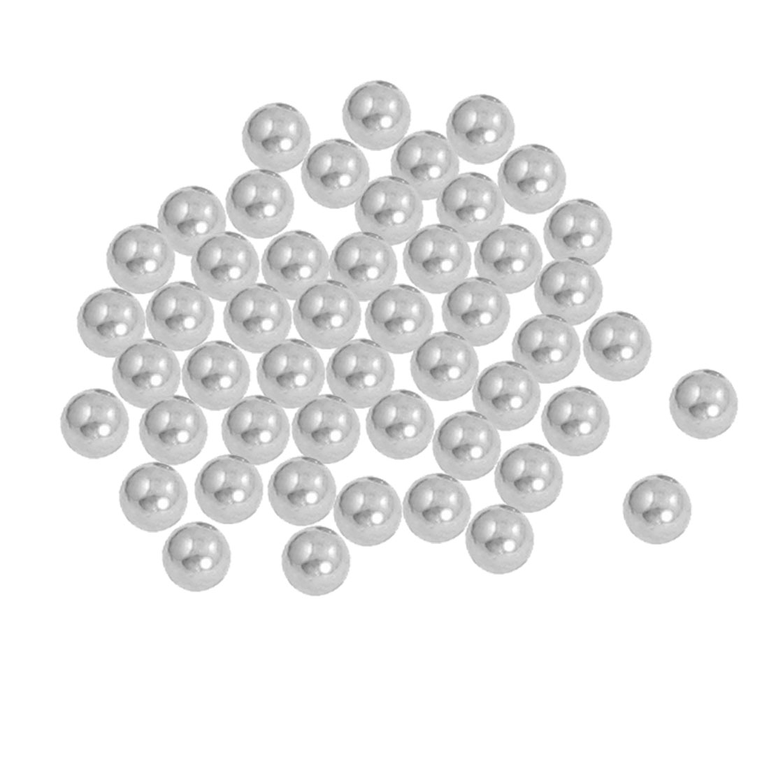 50 Pcs Replacing Parts 7mm Diameter Bike Bicyle Steel Ball Bearing