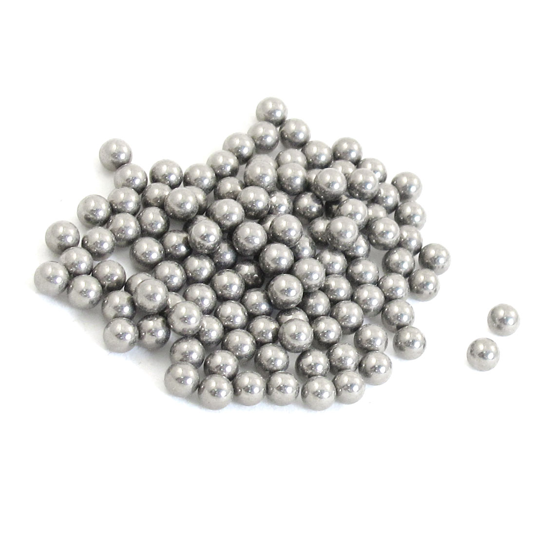 100 Pcs Replacing Parts 5mm Diameter Bike Bicyle Steel Ball Bearing