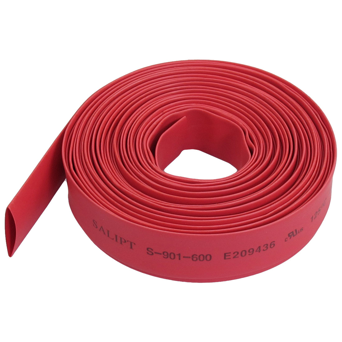 Ratio 2:1 10mm Dia Red Polyolefin Heat Shrinkable Tube Tubing 6 Meters