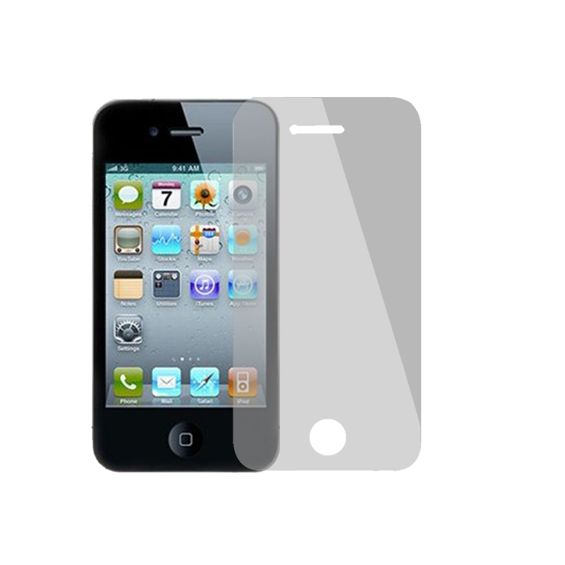 Scratch Protective Front LCD Screen Film for iPhone 4G 4S
