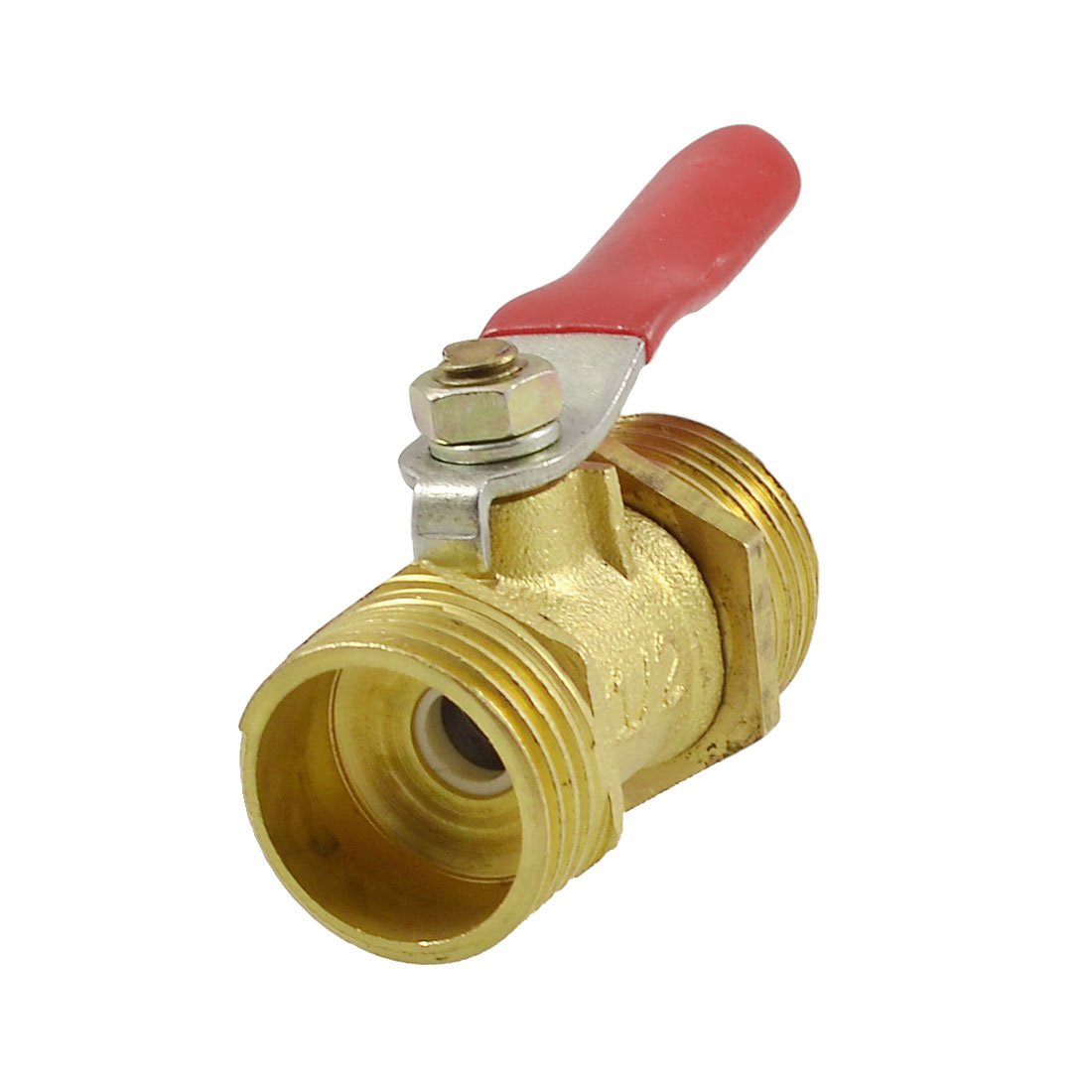 "Single Lever Handle 1/2""PT Full Port Ball Valve for Air Compressor"