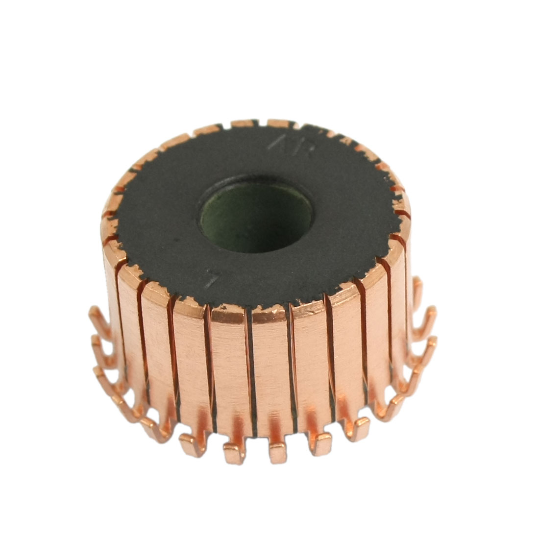8mm Shaft Dimeter 24 Gear Tooth Copper Shell Mounted On Armature Commutator