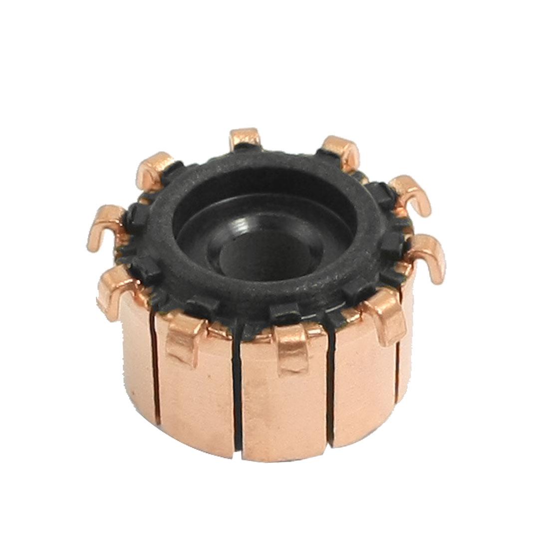 4.5mm x 15mm x 10mm Copper Case Auto Alternator Motor Power Tool Commutator